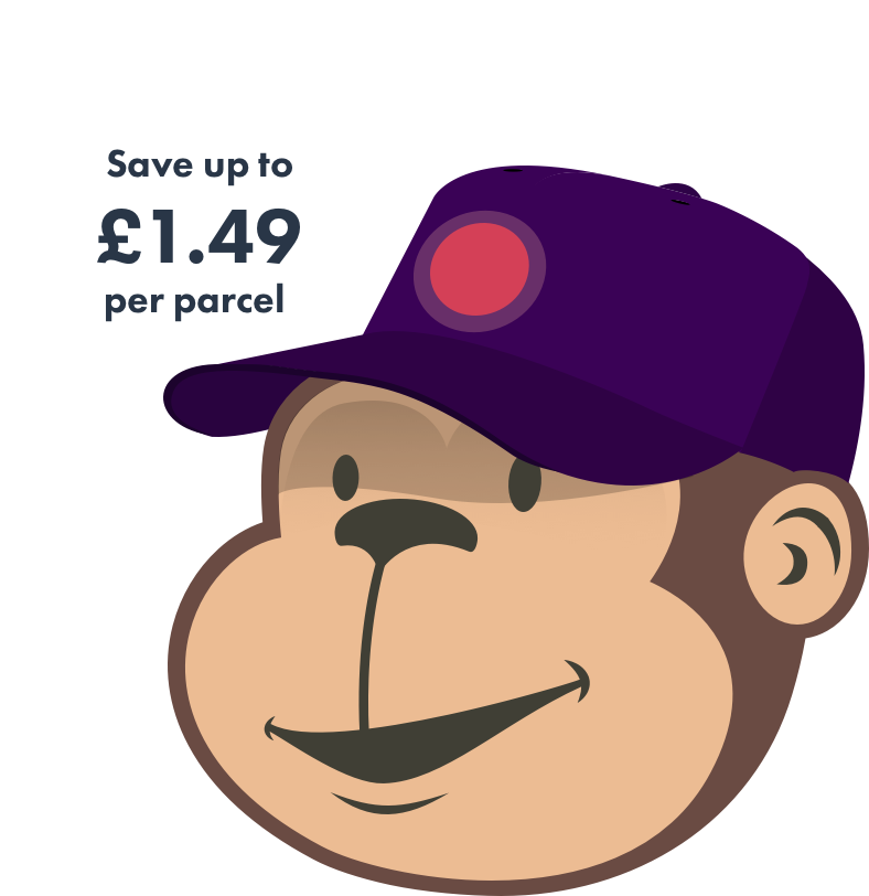 Save up to £1.49 per parcel with Parcel Monkey